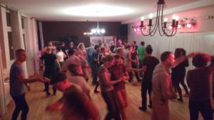 Tanzparty von Indoor-Session
